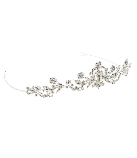 Tiara Lilly 03-321-SV-0 - The Beautiful Bride Shop