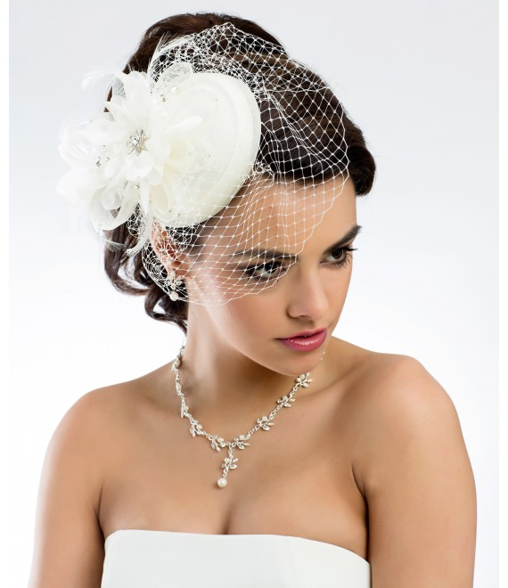 Prachtige fascinator 107 - The Beautiful Bride Shop