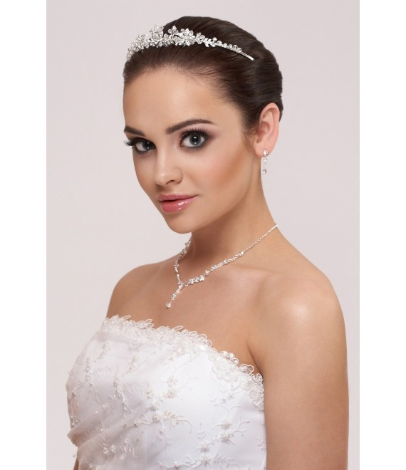 Tiara Celine - Bianco Evento D36 - The Beautiful Bride Shop