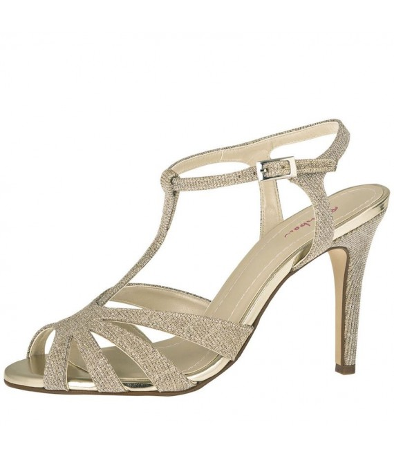 Rainbow Club Bruidsschoenen Annabel Gold -  The Beautiful Bride Shop 1