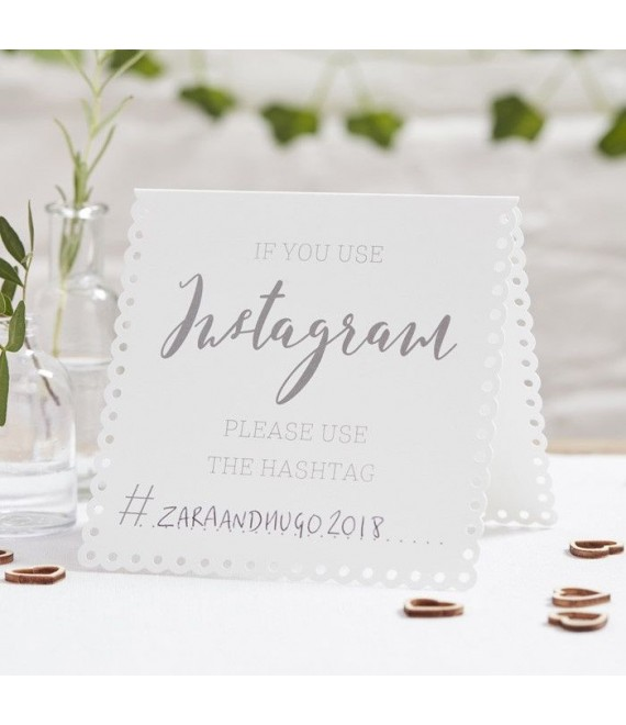 Instagram Tent Cards 1 - Beautiful Botanics - The Beautifulbrideshop