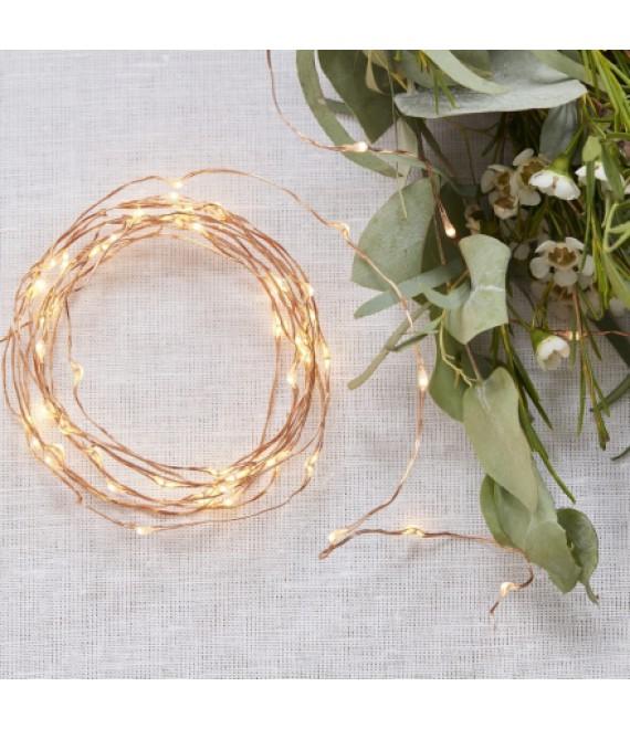 Copper String Fairy Lights - BB-298