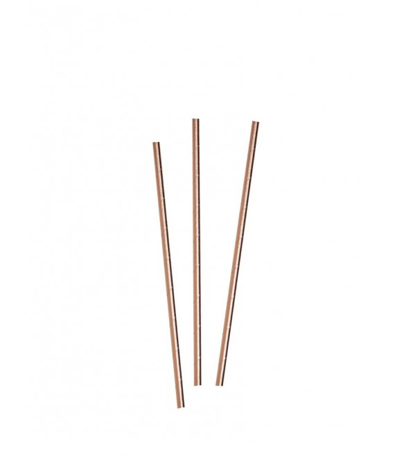 Rose Gold Paper Straws 2 - Beautiful Botanics - Team Bride