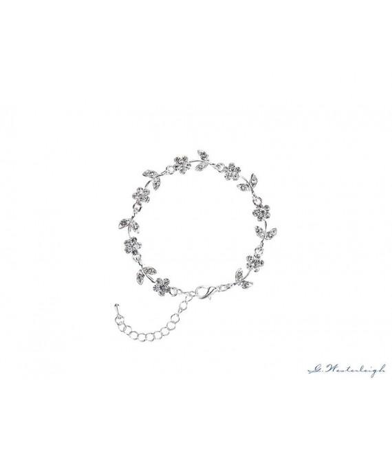 Prachtige armband van G. Westerleigh  BL0049 - The Beautiful Bride Shop