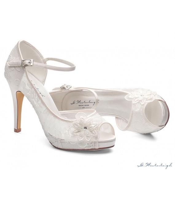 Bruidsschoenen Lola - G.Westerleigh  1 - The Beautiful Bride Shop
