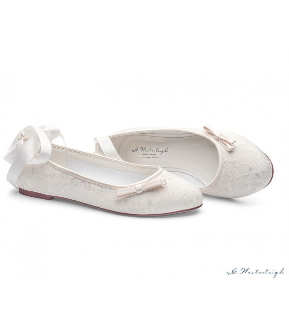 Bruidsschoenen Lottie - G.Westerleigh 1 - The Beautiful Bride Shop