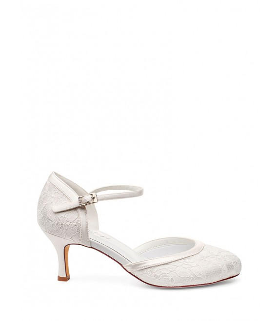 Bridal Shoe Daisy_5 by Westerleigh - The Beautiful Bride Shop