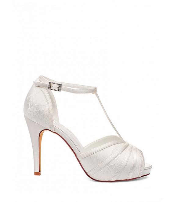 Bruidsschoenen Scarlet  G.Westerleigh 5 - The Beautiful Bride Shop