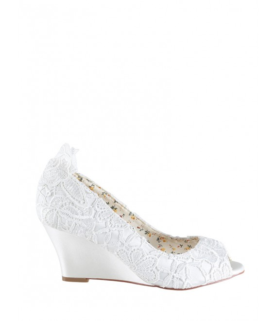 Wedding Shoes Flora Lace - The Perfect Bridal Company | The Beautiful Bride Shop 1