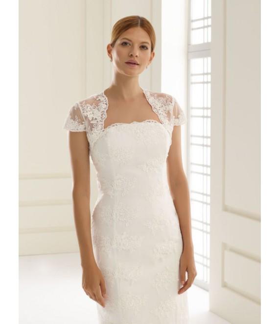 Bianco Evento Bolero E20 - The Beautiful Bride Shop
