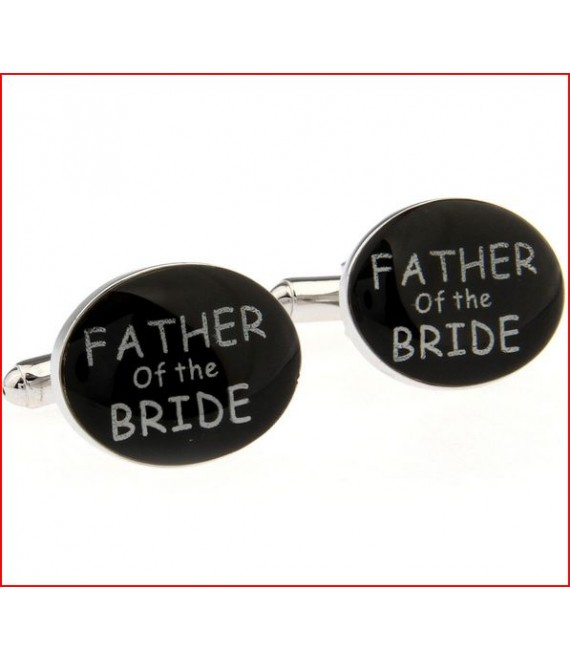 Manchetknopen father of the bride - The Beautiful Bride Shop