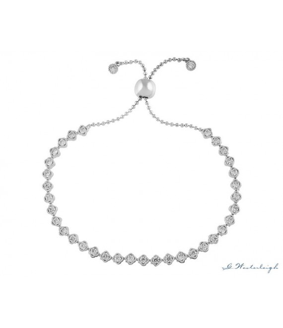 Prachtige armband van G. Westerleigh  BL0049 - The Beautiful Bride Shop