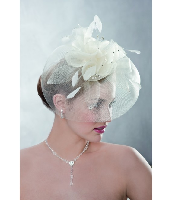 Emmerling Fascinator 23006 - The Beautiful Bride Shop