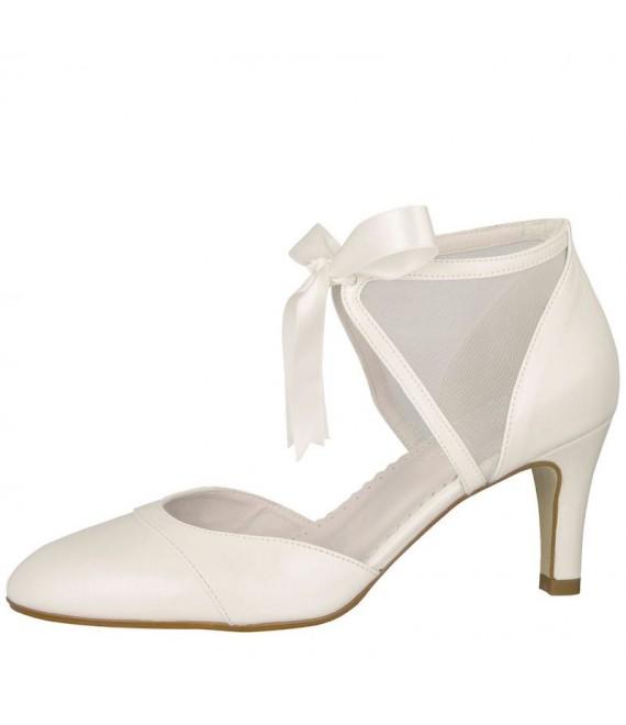 Rainbow Club Bruidsschoenen Brooke Off-White - The Beautiful Bride Shop 1