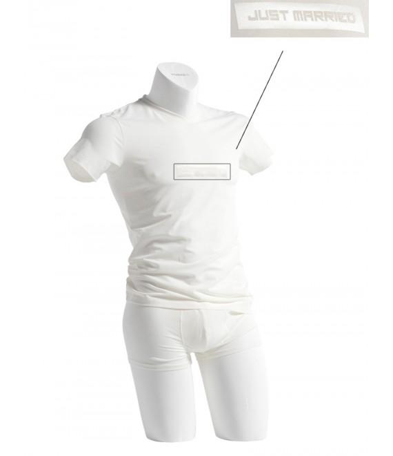 T-shirt; V-neck MW-7005J, Poirier - The Beautiful Bride Shop