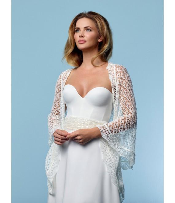 Gebreide Stola S157 Poirier - The Beautiful Bride Shop