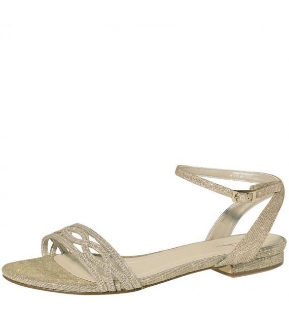 Rainbow Club Bruidsschoenen Shoes Faye Goudld-Metallic - The Beautiful Bride Shop - 1