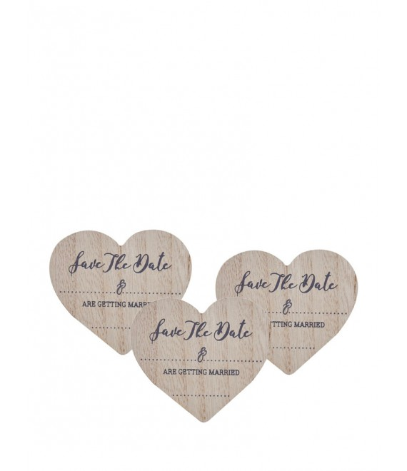Save The Date Wooden Magnets - The Beautiful Bride Shop