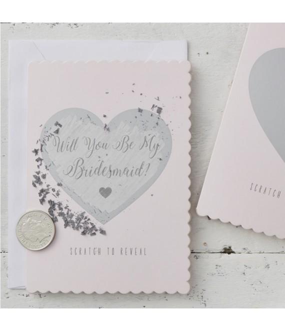 Will You Be My Bridesmaid? Kraskaart 1 - The Beautiful Bride Shop