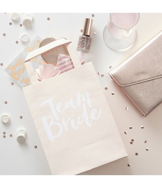 Team Bride Party Bags With Handles 1 - BBS