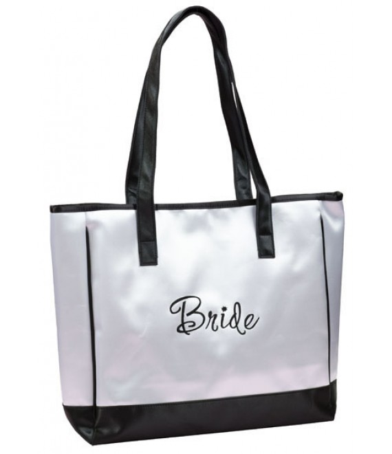 Lillian Rose Bride White Tote Bag TR670BR - The Beautifiul Bride Shop