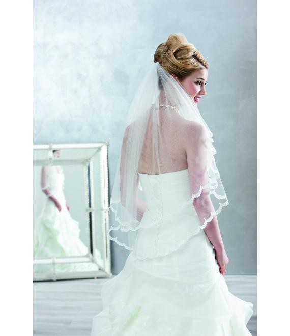 Emmerling Sluier 2863 - The Beautiful Bride Shop