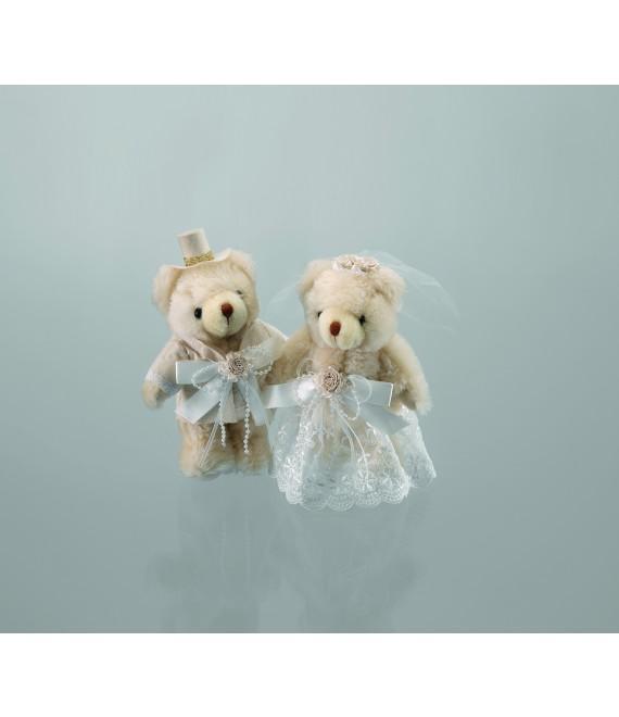 Emmerling bruid en bruidegom teddyberen 13010 - The Beautiful Bride Shop