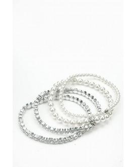 Sophia | Set 4 Armbanden - Abrazi 4 Bracelet Set