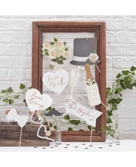 Photo Booth Props - Beautiful Botanics