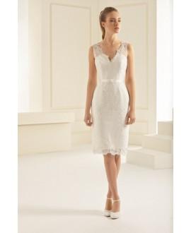 Korte bruidsjurk Evita | Bianco Evento