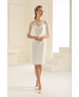 Korte bruidsjurk Greta (Bianco Evento)