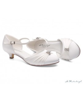 G.Westerleigh Bridal Shoes Heidi-Ivory-40-tweedekans