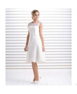 Korte vintage trouwjurk Calendula (Bianco Evento)