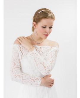 Abrazi Bruids Tiara HB-OVL Rose