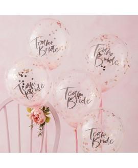 Ginger Ray Team Bride - Vrijgezellenfeest confetti ballonnen FH-214