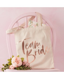 Ginger Ray Team Bride Linnen Tas FH-224