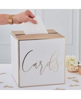 Ginger Ray Enveloppenbox Goud GO-156