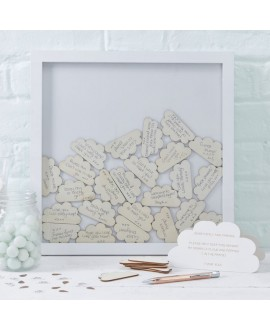 Wolken frame gastenboek