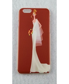 Beautiful Bride Case voor de iPhone 5 / 5s en 6 - rood