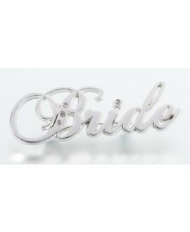 BRIDE pin met strass