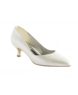 Lilly pumps met kant (07-1979-CR)