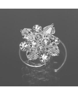 Curlies met prachtige kristallen met glazen parels