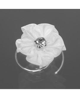 Prachtige curlies met bloem en stasssteentje