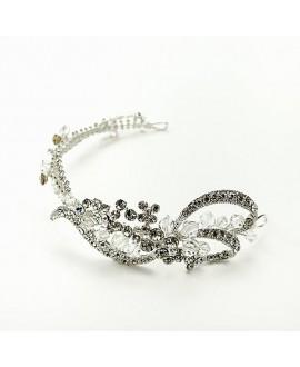 Prachtig haarjuweel met strass steentjes | Noblesse 1626