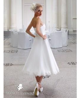 Korte vintage trouwjurk Peonia