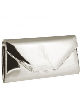 Rainbow Club Enveloppe Clutch Saskia Zilver-Mirror