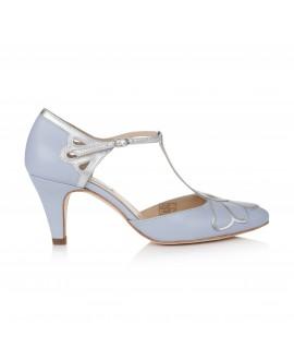 Rachel Simpson Bruidsschoenen Gardenia II Blue