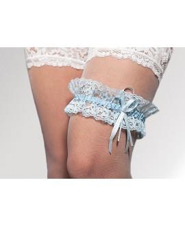 kousenband blauw