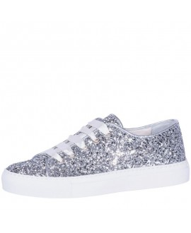 Fiarucci Bridal Bruidsschoenen Sneaker Suzan Zilver Glitter
