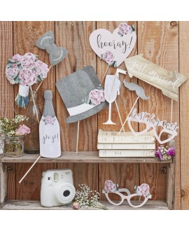 Photo Booth Props - Rustic Country (10st)